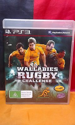 AU6.95 • Buy Wallabies Rugby Challenge - Sony PS3 PAL - Manual Included