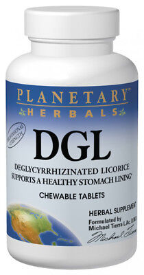Planetary Herbals DGL Deglycyrrhizinated Licorice Herbal Supplement -100 Tablets • 6.58£