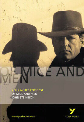 York Notes For GCSE: Of Mice And Men, John Steinbeck: Notes By Martin Stephen • 2.03£