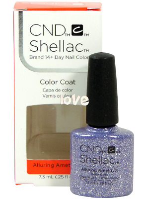AU14.21 • Buy CND Shellac Gel Color UV Polish Starstruck Collection 91263- Alluring Amethyst