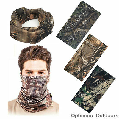 £6.95 • Buy Realtree Real Tree Leaf Camouflage Camo Snood Scarf Face Mask Head Cover Hat UK
