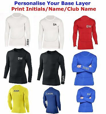Compression Armour Baselayer Top Thermal Skins Shirt • 11.99£