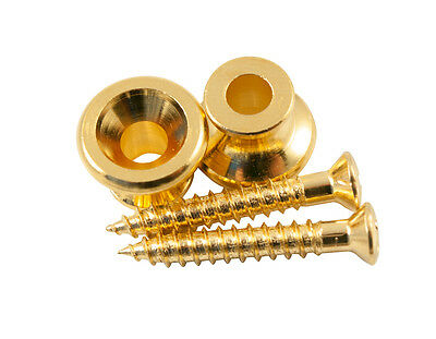 $ CDN3.97 • Buy Genuine Kluson Replacement Gibson Strap Button Set (set Of 2), Gold