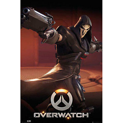 AU12.95 • Buy Overwatch - Reaper POSTER 61x91cm NEW * Video Game Blizzard