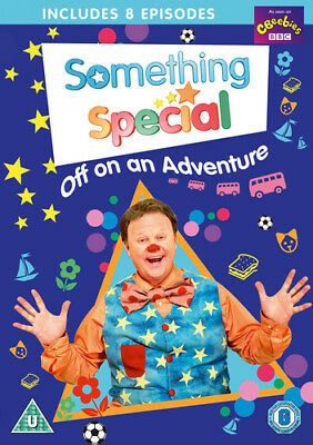 Something Special: Off On An Adventure DVD (2017) Justin Fletcher Cert U • 5.65£