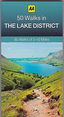 50 Walks In The Lake District By AA Publishing (Paperback) New Book • 6.99£