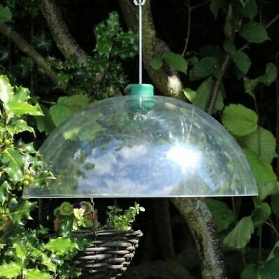 £16.09 • Buy Universal Squirrel Baffle Bird Feeder Shelter Clear Dome Hanging Guard Proof