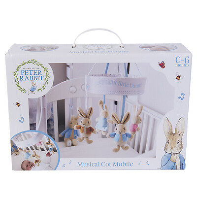 £32.99 • Buy Peter Rabbit Musical Cot Mobile Beatrix Potter From Rainbow Designs 0-6 Months