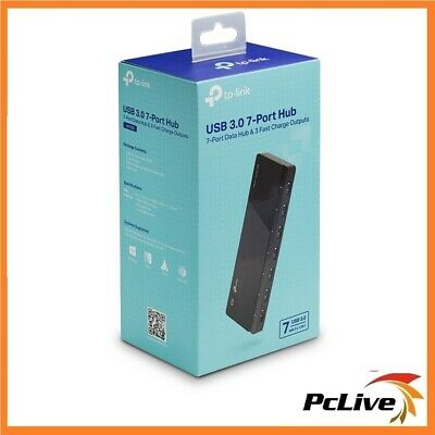 AU52.20 • Buy TP-Link UH700 USB 3.0 7-Port Hub Fast Charge PC Mac Windows Linux Power Adapter