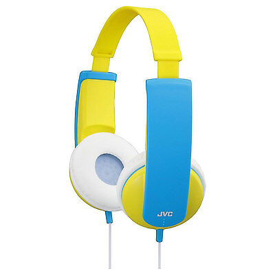 JVC HAKD5Y Tinyphones Stereo Over Ear Headphones For Kids Volume Limiting New UK • 17.66£