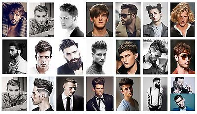 £6.99 • Buy Hairdresser,barber,hair Salon,hair Style A4 A3 A2 Men's Hair Poster Buy1get2free