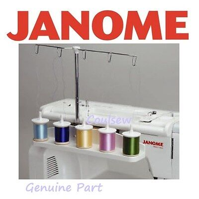 GENUINE JANOME Embroidery Machine Thread 5 Spool Stand 10000 9700 9500 350e 300e • 69.95£