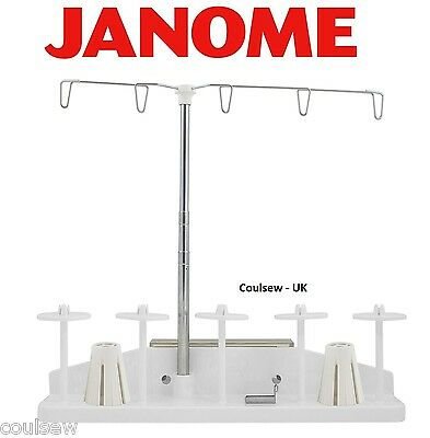 JANOME Embroidery Machine 5 Thread Spool Stand Atelier 15000 14000 9900 500e Etc • 69.95£