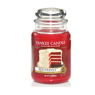 Yankee Candle - RED VELVET - 22 Oz - Great Food & Spice Scent!! - RARE!! • 112.82£