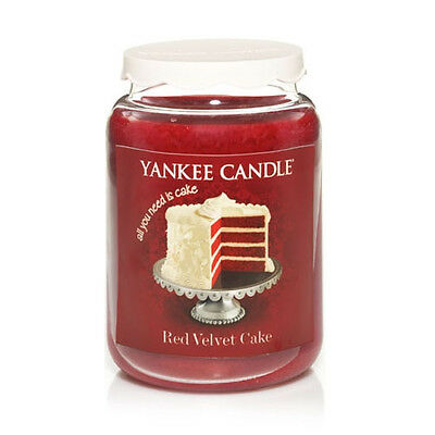 Yankee Candle - RED VELVET CAKE - 22 Oz - Eat Desserts First Line!! - RARE!! • 75.21£