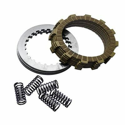 90-01 cr500 tusk clutch kit friction and steel plates cr500r cr 500 500r  discs vehicle