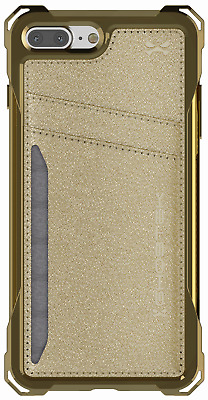 AU11.47 • Buy Leather Wallet IPhone 7 Plus, IPhone 8 Plus Case With Card Holder Pocket Slot