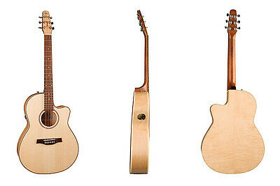 $799.95 • Buy Seagull Model 032457 Performer CW Folk Flame Maple QIT High-Gloss With Gig B New