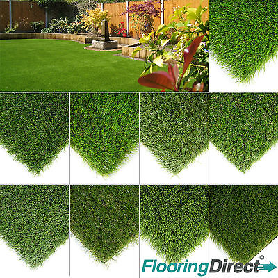 £27.50 • Buy CLEARANCE Luxury Artificial Grass Astro Turf  Realistic Fake Lawn Green Garden