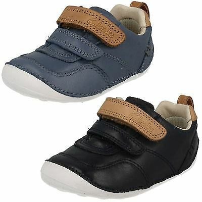 Infant Boys Clarks First Cruiser Shoes *Tiny Aspire* • 19.99£