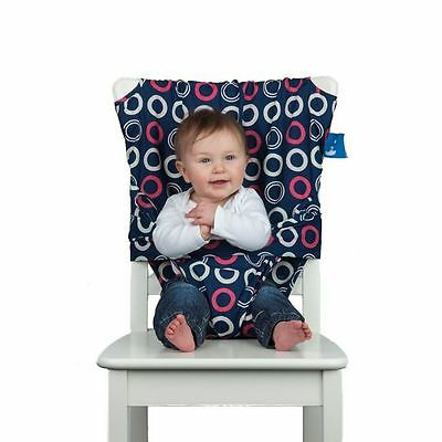 Totseat Washable Portable Highchair Baby Toddler Seat With Harness • 22.45£