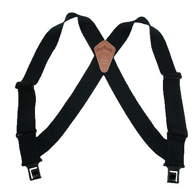 $23.50 • Buy New Perry Suspenders Men's Elastic Outback Side Clip Trucker Suspenders
