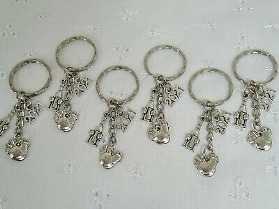 6 Hen Party 2021 Keyrings Wedding Favor Hen Do Keepsake With Gift Bags • 3.95£