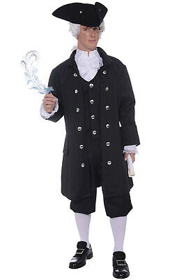$40.36 • Buy Brand New Colonial Founding Father Adult Costume