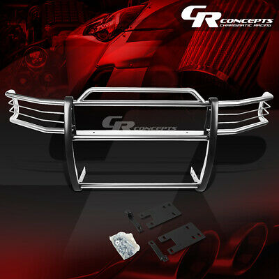 $315.88 • Buy Chrome Stainless Bumper Grille/grill Guard Kit For 99-01 Dodge Ram 1500 Sport