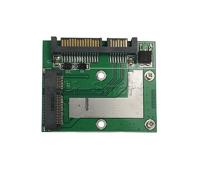 AU2.86 • Buy MSATA SSD To 2.5  SATA 6.0 Gps Adapter Converter Card IDE HDD For Laptop