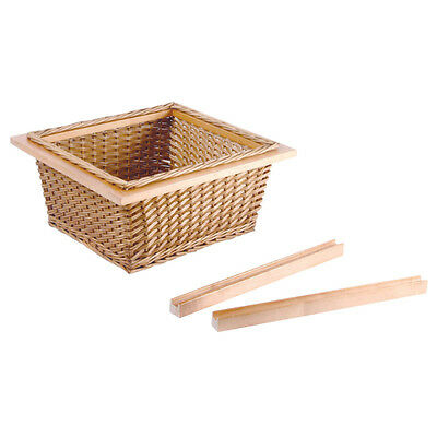 Pull Out Wicker Baskets Kitchen Storage Larder Base Unit Includes Runners • 39.99£