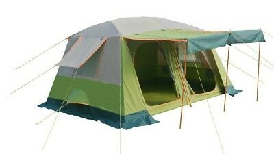 AU252.95 • Buy New Family 4-8 Person Double Layer Tent Waterproof Silver Uv Protection Coating