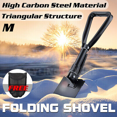 AU16.95 • Buy Folding Shovel Survival Multi Tools Pouch Outdoor Garden Camping Hiking Spade