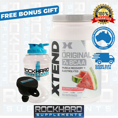 AU99.90 • Buy SCIVATION XTEND 90 SERVES BCAA's + ELECTROLYTES - BRANCHED CHAIN AMINO ACIDS