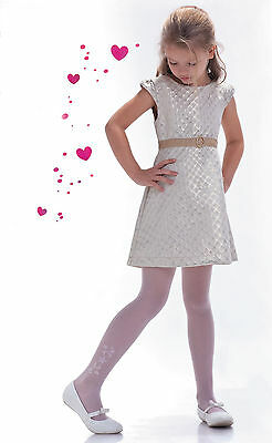 £4.99 • Buy White Transparent Tights First Holy Communion Bridesmaid Girl Party Pantyhose T6