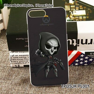 AU16.35 • Buy USA Overwatch OW Reaper So Cool OW Phone Case Cover Iphone Case For 7 Plus