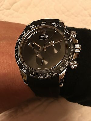 $ CDN396.44 • Buy Rolex Daytona Dial All Black Fit All Models With Cal 4130