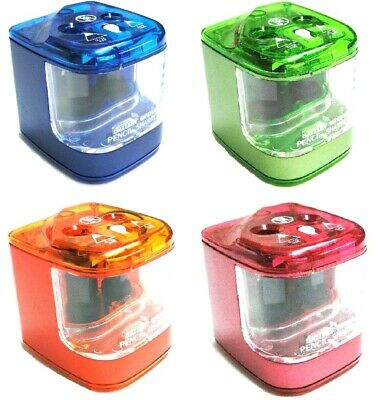 £10.99 • Buy Jakar Double Hole Electric Pencil Sharpener Battery Operated Automatic NEW 5156