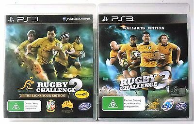 AU34.95 • Buy Rugby Challenge 3 Wallabies Edition And Rugby Challenge 2 PS3 Games