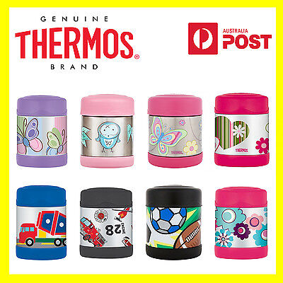 AU24.99 • Buy 100% Genuine! THERMOS Funtainer Kids S/Steel 290ml Vacuum Insulated Food Jar