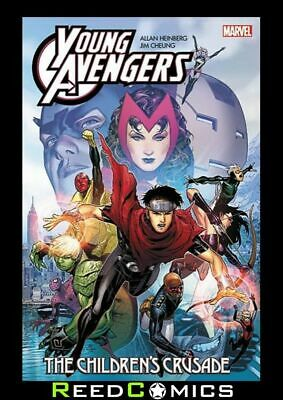Young Avengers By Heinberg And Cheung The Childrens Crusade Graphic Novel • 22.99£