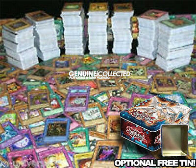 AU9.95 • Buy 100 Assorted Common Yugioh Cards | English & Genuine, Optional FREE Storage Tin