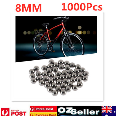 AU33.56 • Buy 1000Pcs Cycling Steel Replacement Parts Bike Bicycle Steel Ball Bearing 8mm AU