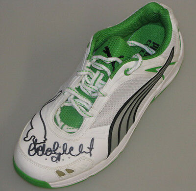 AU289 • Buy ADAM GILCHRIST Hand Signed Cricket Shoe / Boot
