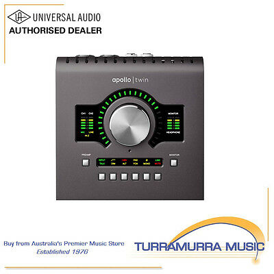 AU1599 • Buy Universal Audio Apollo Twin Duo Mk2 Recording Audio Interface - UA MKII