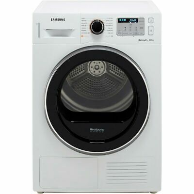 View Details Samsung DV80M5013QW A++ Heat Pump Tumble Dryer Condenser 8 Kg White • 569.00£