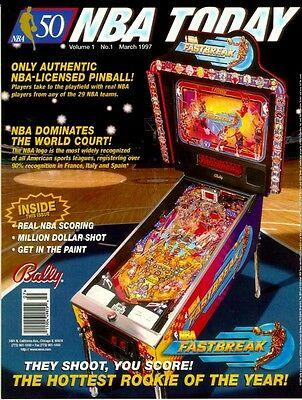 nba fastbreak pinball