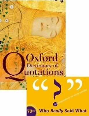 Oxford Dictionary Of Quotations By Elizabeth Knowles (Hardback) Amazing Value • 7.78£