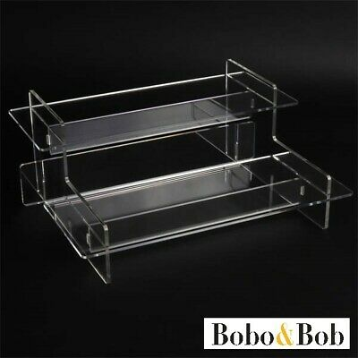 £15 • Buy Watch Tiered Display Stand - Collection - Retail - Acrylic - 5 Shelf Colours