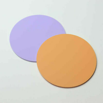 £2.15 • Buy Round Acrylic Coasters - 90 Colours - Kitchen Dining Table Outdoor Mix & Match